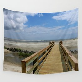 Welcome To The Beach Wall Tapestry