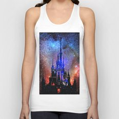 Fantasy Disney. Nebulae Unisex Tank Top