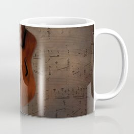 Painting Vintage Violin Coffee Mug