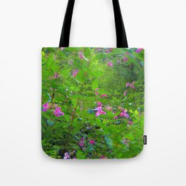 Magic flower (Polygonatum multiflorum) Tote Bag
