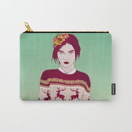 Sweater Weather Lady Carry-All Pouch