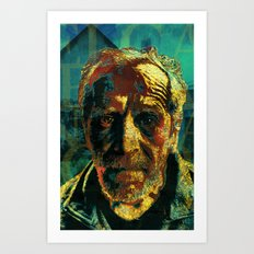 El capitán Tragabalas Art Print