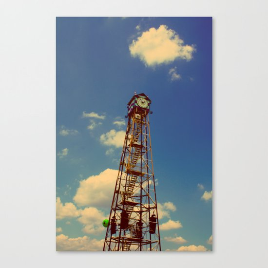 CLOCK TOWER Canvas Print