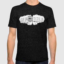 Seattle Seahawks Super Bowl World Champs - White design T-shirt