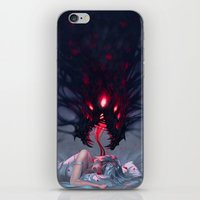 nightmare iPhone & iPod Skins featuring Nightmare by Team Ronin