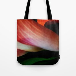 Faded Kayla Lily Tote Bag