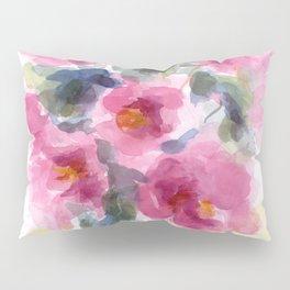 Pink Peony Bouquet Pillow Sham