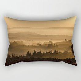 Country Landscape Rectangular Pillow