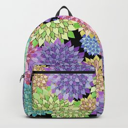 Chrysanthemums Japanese pattern Backpack