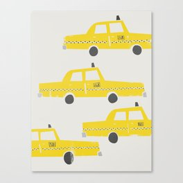 New York Taxicab Canvas Print