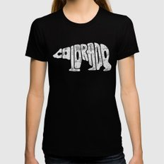 Colorado Womens Fitted Tee LARGE Black