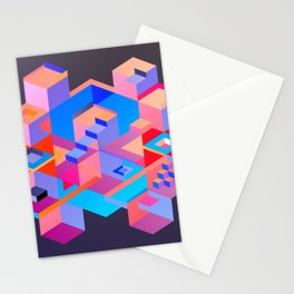 Cubic Inversion III Stationery Cards