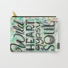Wild Heart, Gypsy Soul Carry-All Pouch