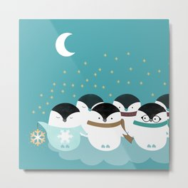 Penguin light Metal Print