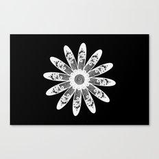White lace Canvas Print
