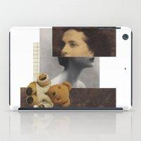 teddy bear iPad Cases featuring Teddy by KatinkaHanselman