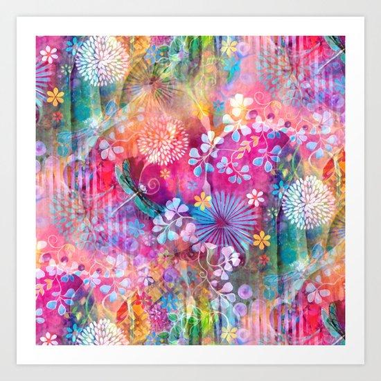 Hidden Heart Art Print