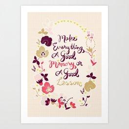 Make Everything Art Print