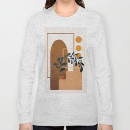 Modern Abstract Art 50 Long Sleeve T-shirt