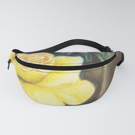 Yellow Roses Fanny Pack