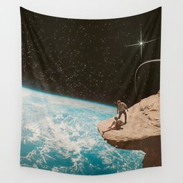 Edge of the world Wall Tapestry