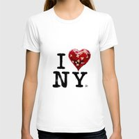 banksy T-shirts featuring Banksy * I Love New York by The Invisible Shop