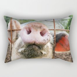 Little Farm - Hello Piggy Rectangular Pillow