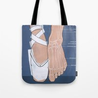ballet Tote Bags featuring ballet by Anne de Swart