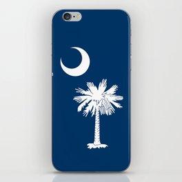 Flag of South Carolina - High Quality image iPhone Skin