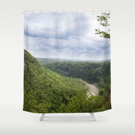 Canyon Springs New - Letchworth Shower Curtain
