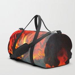 Fire and smoke Duffle Bag