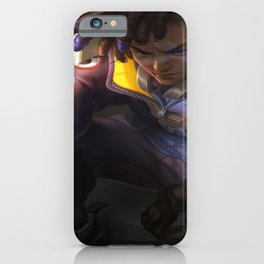 Roanna Peroz illustration artwork digital fan League of Legends Ekko (Leauge of Legends) iPhone Case