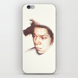 Jean-Michel Basquiat, the radiant one. iPhone Skin