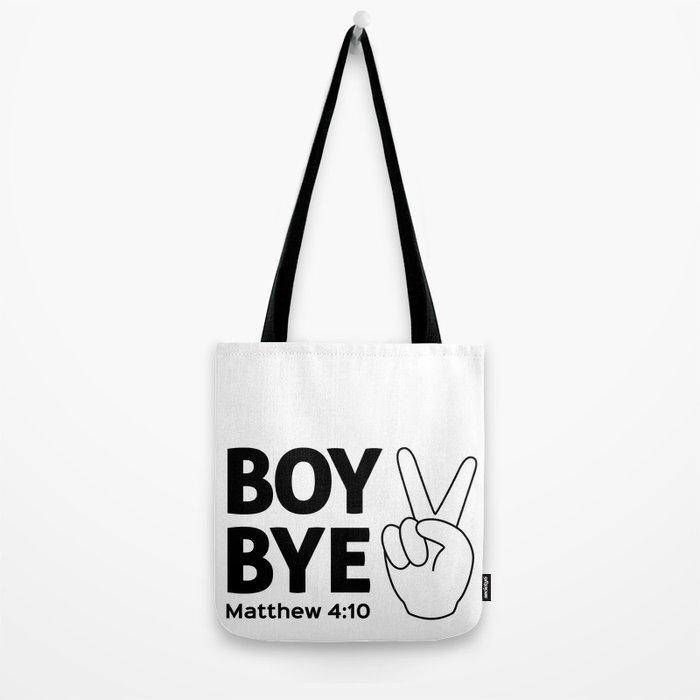 Boy Bye Tote Bag