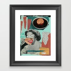 Processed American Framed Art Print
