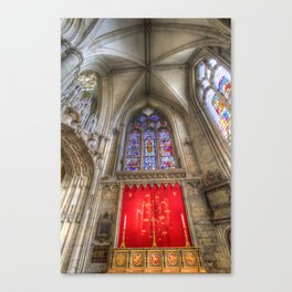 York Minster Cathedral Canvas Print
