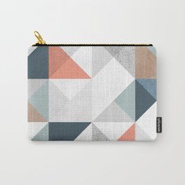Modern Geometric 10 Carry-All Pouch