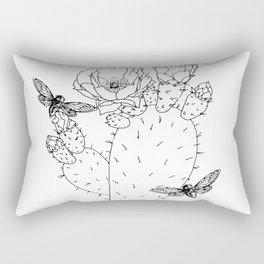 Cactus Cicada Rectangular Pillow