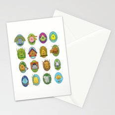 Easter Egg Parade Stationery Cards