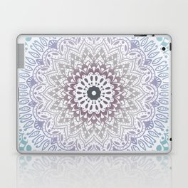 BLUE SUMMER MANDALA Laptop & iPad Skin