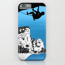 Rock climbing Thailand iPhone Case