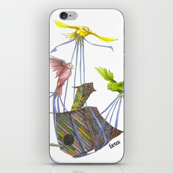 Fly Away Home iPhone & iPod Skin