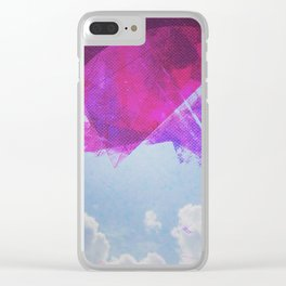 Clouded Precipice Clear iPhone Case