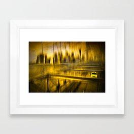City-Shapes NYC Framed Art Print