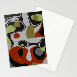 Alien Abstract Stationery Cards