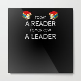 Reading Learning Leading Day Across America Metal Print