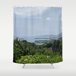 Karon Lookout Point Shower Curtain