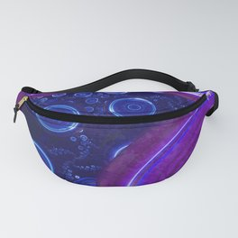 Atlantian Abyss - Sapphire Jewel of the Ocean Fanny Pack