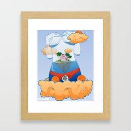 Kame's House Framed Art Print