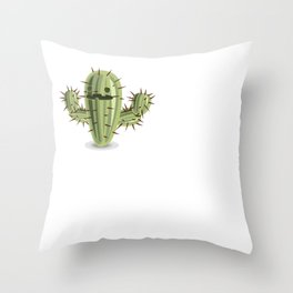 I Have A Prickly Personality Throw Pillow